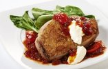 Duck Breasts with Creme Fraiche and Sweet Chilli & Tomato Jam