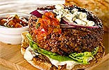 Beef Burger with Ballymaloe Relish