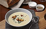 Celery Soup with Stilton Cheese