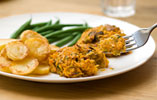 Smoked Mackerel & Sweet Potato Cakes