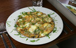 Artichoke Frittata with Goats Cheese