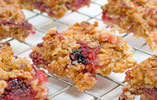 Blackberry and Apple Flapjack