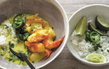Summer Suppers: Coconut Curry with Prawns