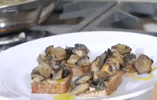 Open Sandwich - Mushrooms & Thyme