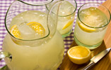 Fiery Ginger Lemonade