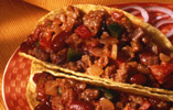 Chilli in Taco Shells
