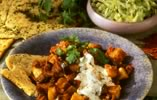 Potato and Aubergine Curry