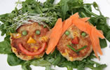 Tuna and Sweetcorn Funny Face Fishcakes