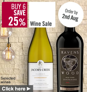 Wine Buy 6 save 25%