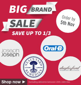 Big Brand Sale - Save up to 1/3