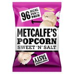 Metcalfe's Skinny Sweet & Salt Popcorn Sharing Bag
