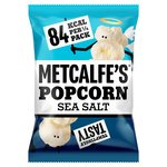 Metcalfe's Skinny Sea Salt popcorn Sharing Bag