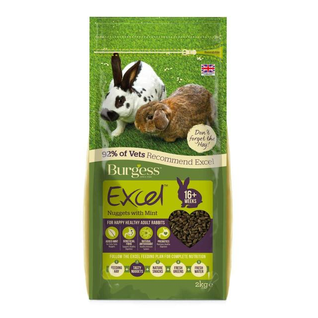 Adult rabbit food