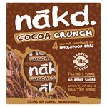 Nakd Free From Cocoa Crunch Fruit & Nut Bar Multipack