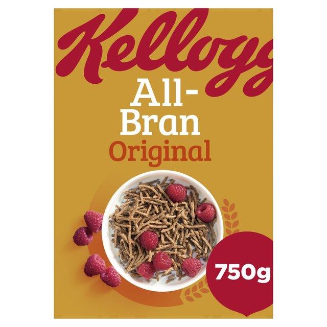 Kellogg's All Bran Cereal 750g From Ocado