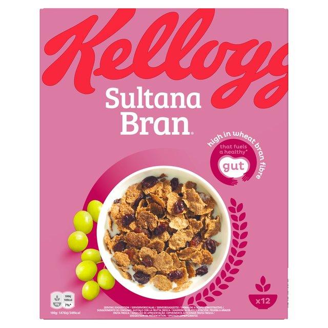 kellogg s all bran healthwise sultana bran flakes 500g from ocado