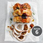 Waitrose Double Stuffed Turkey Breast with Cumberland Sausagemeat