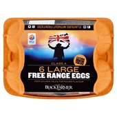 Black Farmer Large Golden Yolk Free Range Eggs