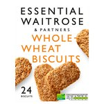 Essential Waitrose 24 Wholewheat Biscuits