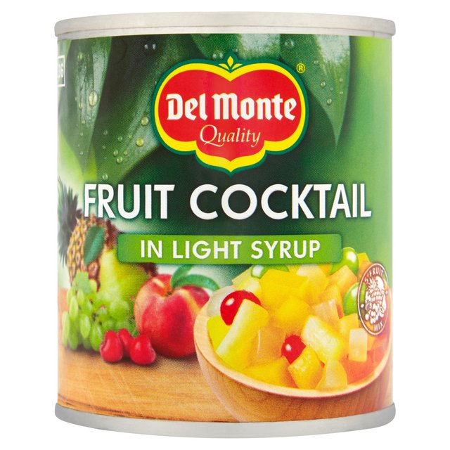 Del Monte Fruit Cocktail In Light Syrup 227g From Ocado