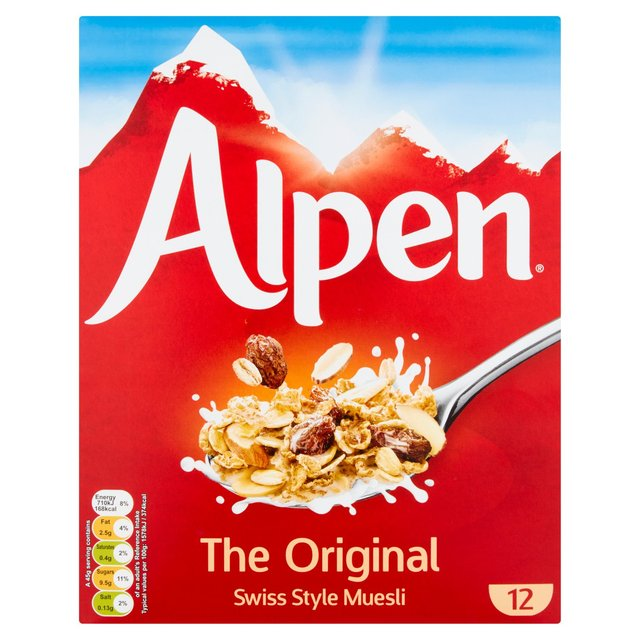 how to make alpen cereal images