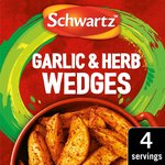Schwartz Pot Garlic & Herb Wedges