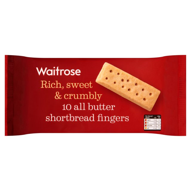 Butter Shortbread Fingers Waitrose