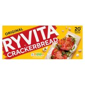 Ryvita Original Wheat Crackerbread