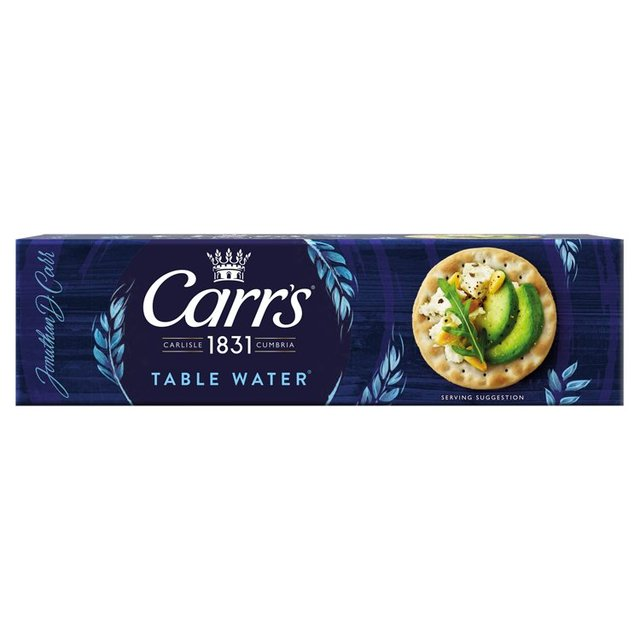 Carr 39 s table water biscuits 125g from ocado for Table 52 goat cheese biscuits