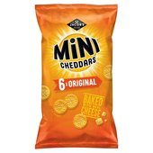 Jacob's Mini Cheddars Cheese 25g x