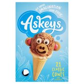 Askeys Cornets Classic Ice Cream Cones