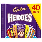 Cadbury Heroes Party 40 Treatsize Packs