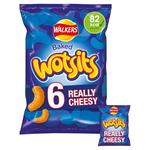 Walkers Wotsits Really Cheesy Snacks 16.5g x