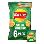 Walkers Salt & Vinegar Crisps 25g x