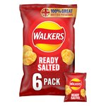 Walkers Ready Salted Crisps 25g x