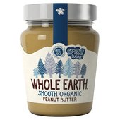 Whole Earth Organic Smooth Peanut Butter