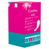 Carefree Cotton Fresh Scented Breathable Pantyliners Single Wrapped
