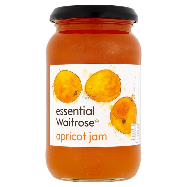 Apricot Jam essential Waitrose 454g from Ocado