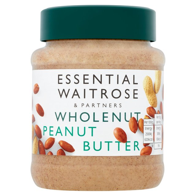 Wholenut Peanut Butter essential Waitrose
