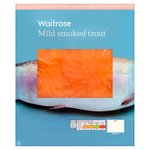 Waitrose Scottish Mild Smoked Trout 4 Slices