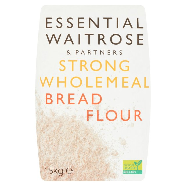 Flour Strong Wholemeal Bread Flour essential Waitrose
