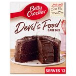 Betty Crocker Devil's Food Chocolate Cake Mix