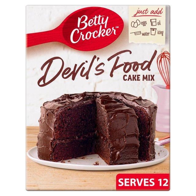 Betty Crocker Devils Food Cake Mix Recipe