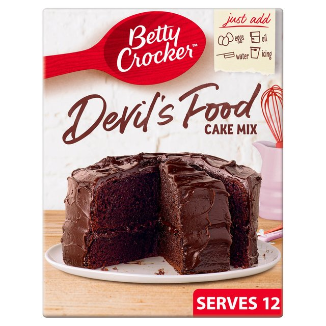 Betty Crocker Devil S Food Chocolate Cake Mix Ocado
