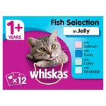 Whiskas 1+ Cat Pouches Fish Selection in Jelly