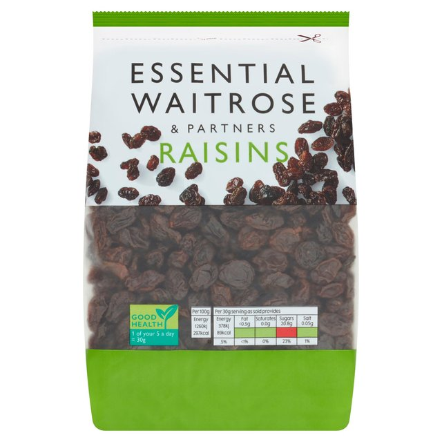Raisins essential Waitrose