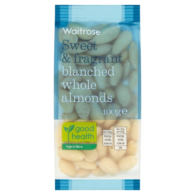 Blanched Whole Almonds Waitrose