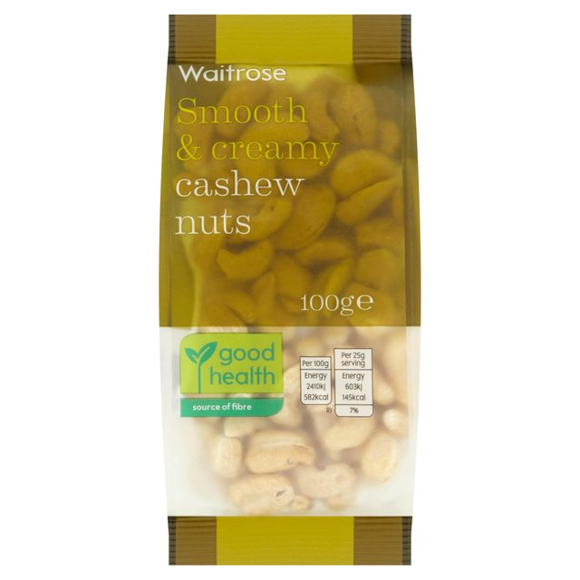 Unsalted Cashew Nuts Waitrose