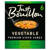 Kallo Just Bouillon Vegetable Stock Cubes