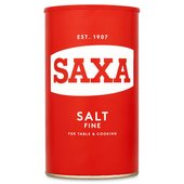 Saxa Table Salt